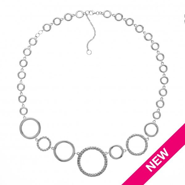 Allegro Circle Necklace