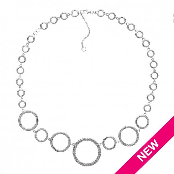 Allegro Circle Necklace