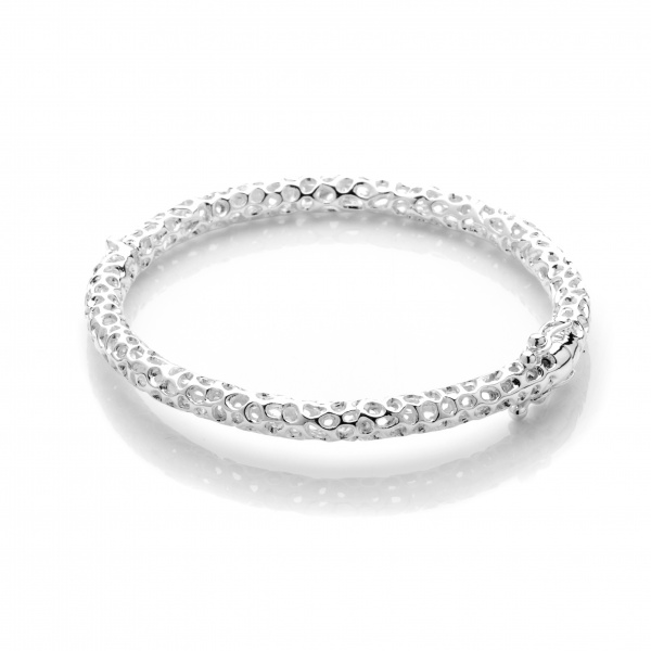 Allegro Oval Hinged Bangle