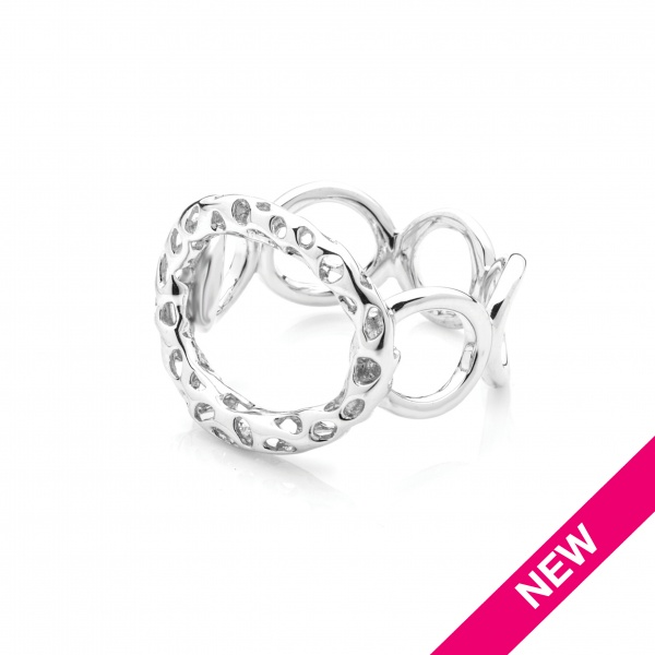 Allegro Circle Ring size L