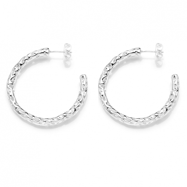 Allegro Medium Hoop Earring