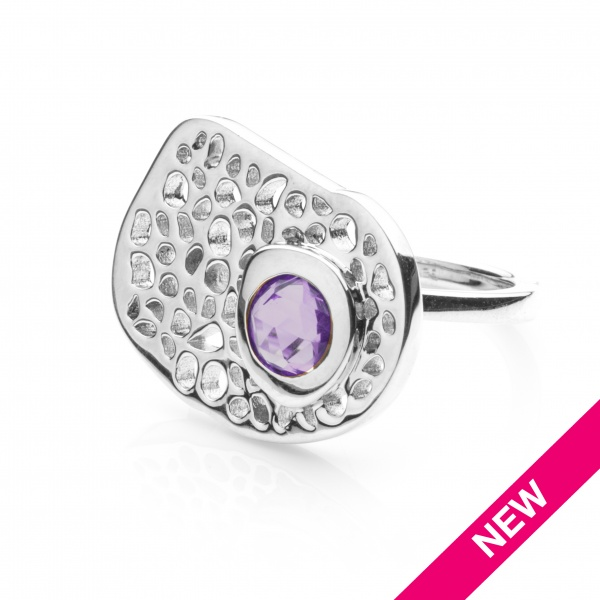 Candy Ring Amethyst - Size L
