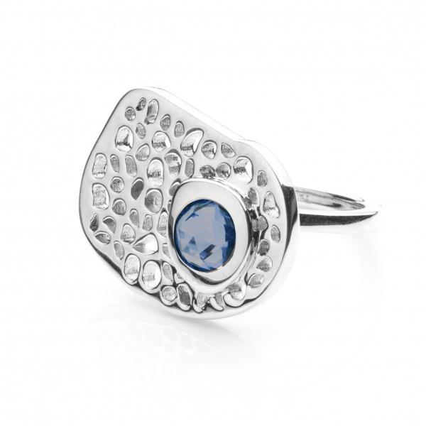 Candy Ring London Blue Topaz - Size L