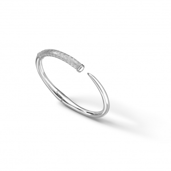 Cherish ZigZag Bangle