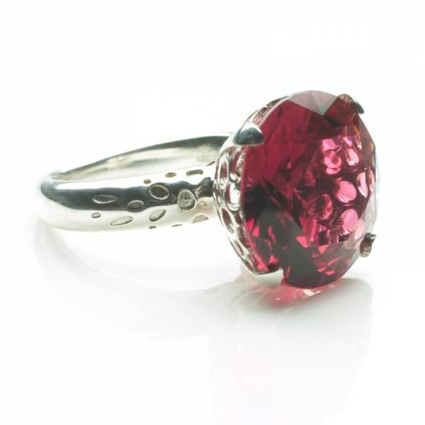 Pink Tournaline Cocktail Ring