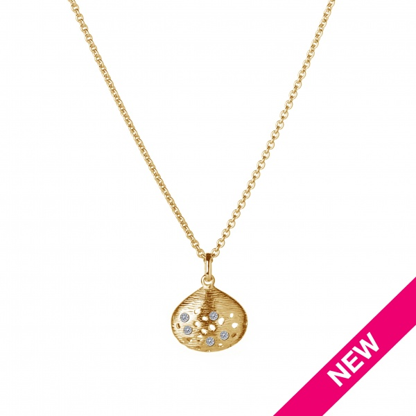 Cala 18ct Gold and Diamond Pendant