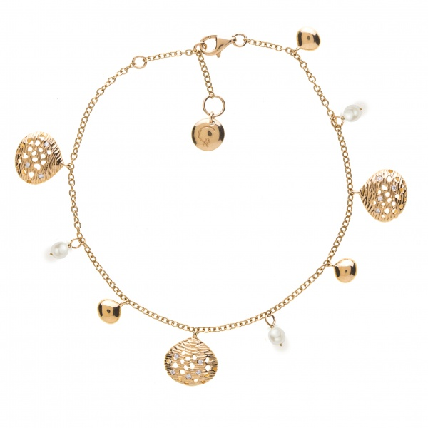 Cala 18ct Gold and Diamond Pendant