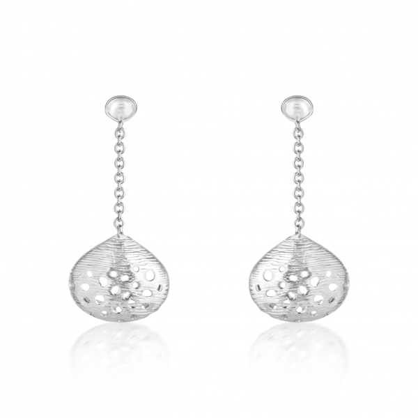 Cala Shell Drop Earrings