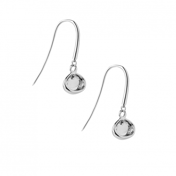 Cala Mini Hook Drop Earrings