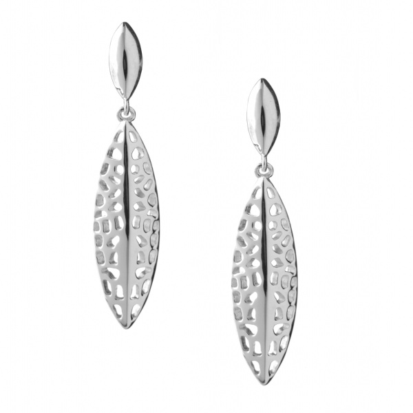 Cascade Drop Stud Earring