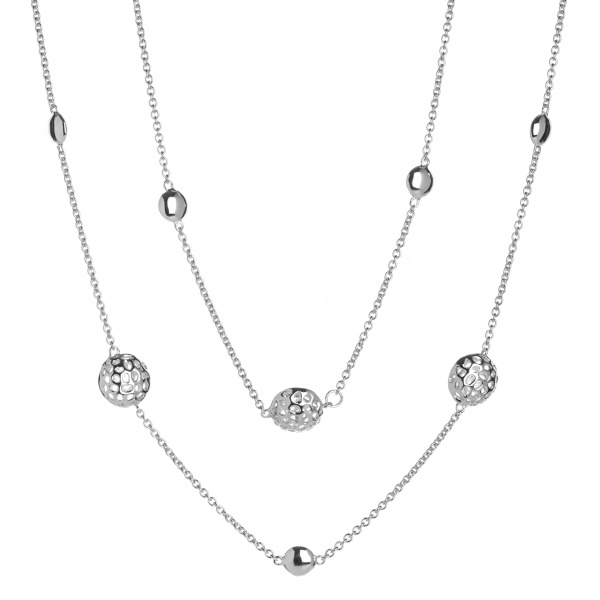 Disc Long Line Necklace