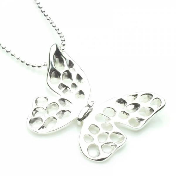 DebRA lattice butterfly pendant