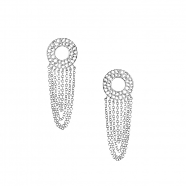 Enkai Tassle Stud Earrings