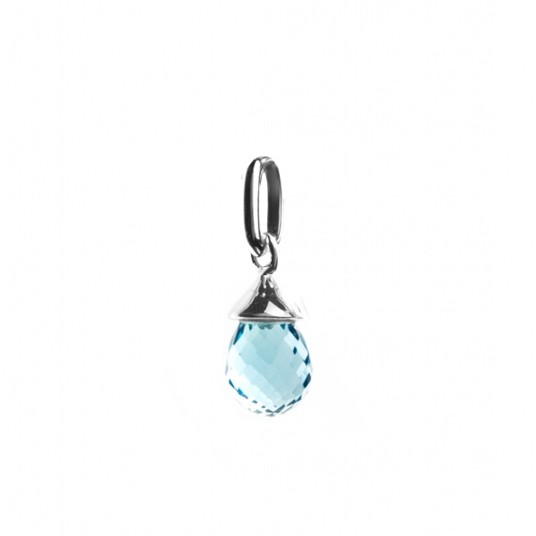 December Birthstone -Topaz Charm