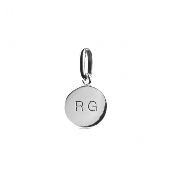 Elements Engraveable Round Tag Charm