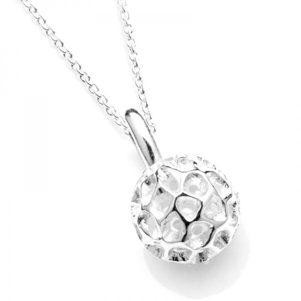 Mini Globe Silver Pendant