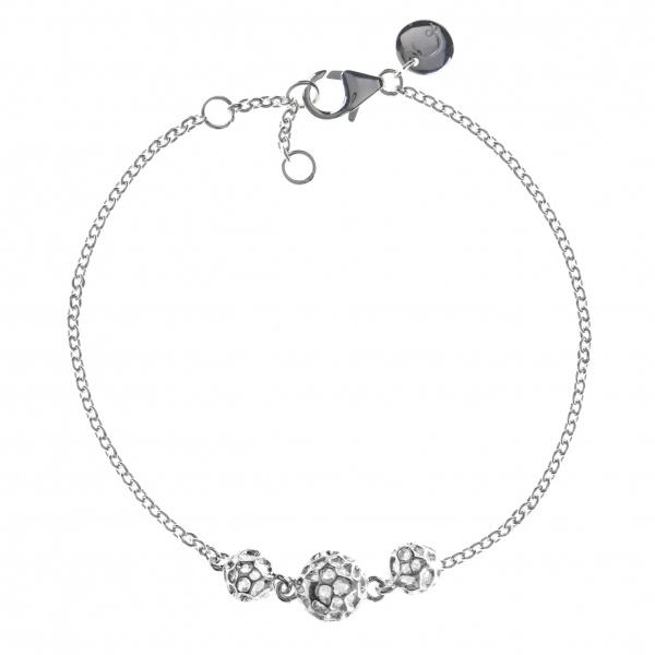 Globe Triple Bracelet