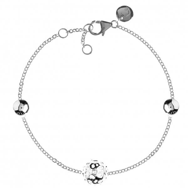 Globe Triple Contrast Bracelet