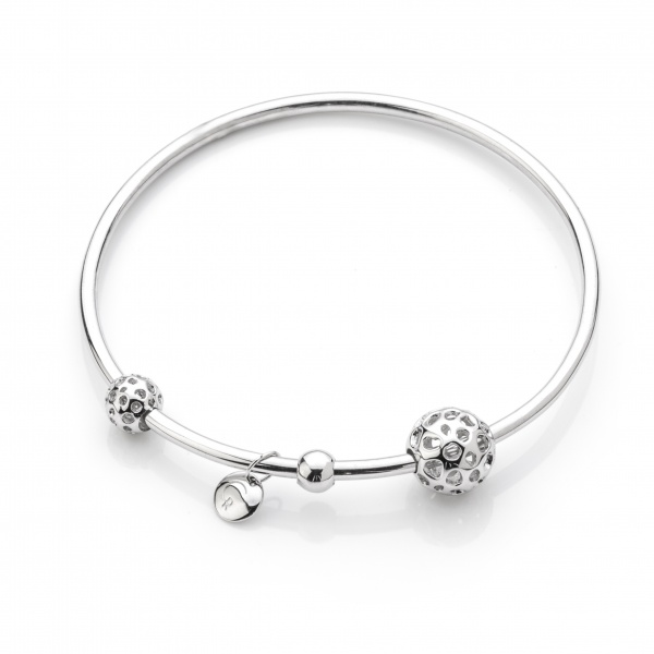 Globe Bead Bangle 66mm