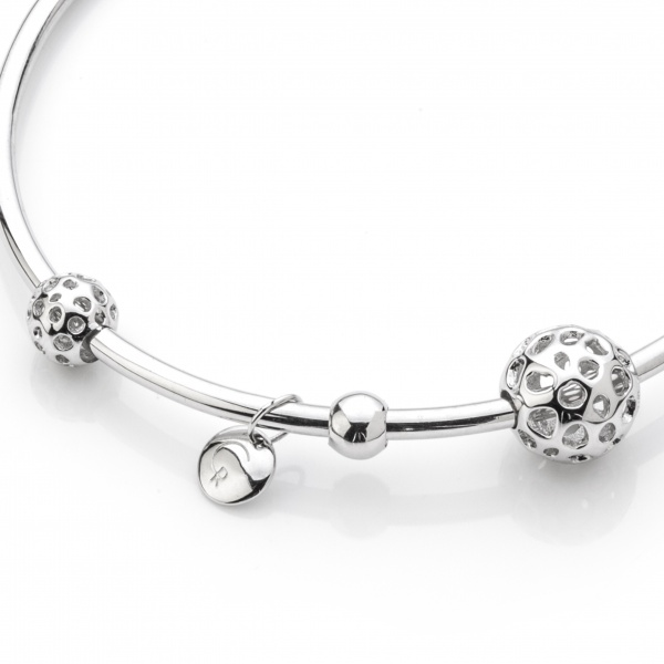 Globe Bead Bangle 60mm