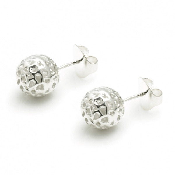 Globe Stud Earrings