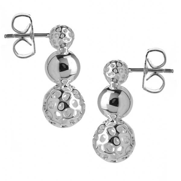 Globe Graduating Earrings