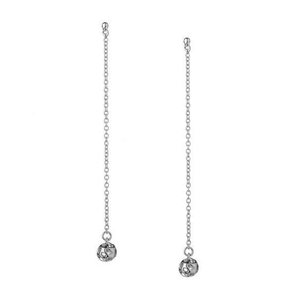 Globe Mini Bead Drop Earrings