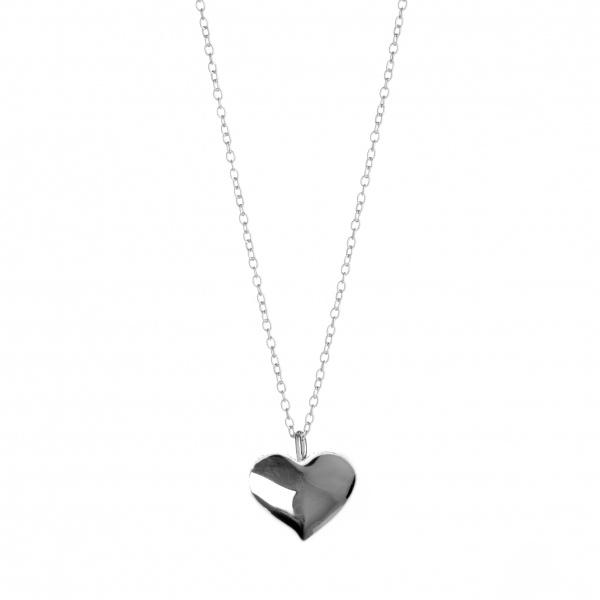 Amore Heart Plain Pendant