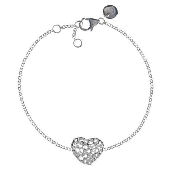 Amore Heart Single Bracelet