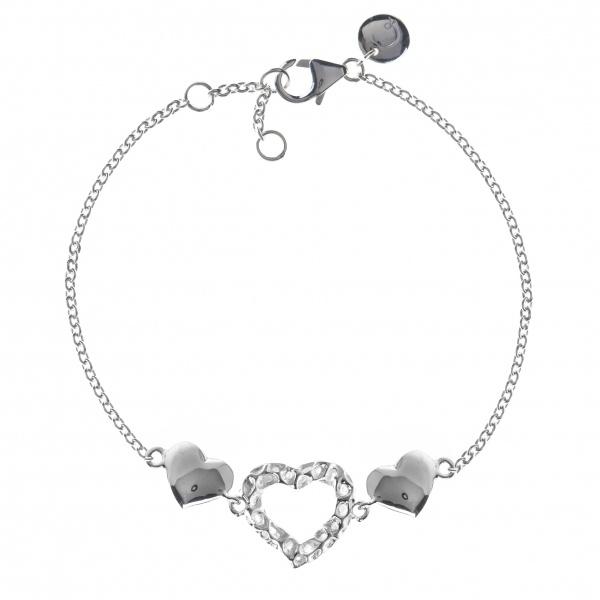 Amore Heart Triple Bracelet