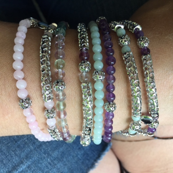 Stretchy Bead Bracelet Amazonite