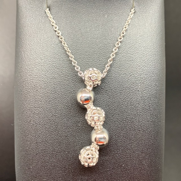bubbly pendant dangly