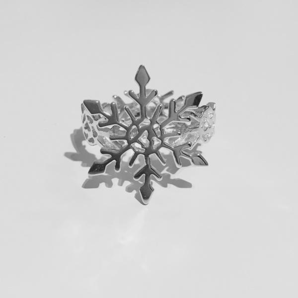 Snowflake Ring Size N