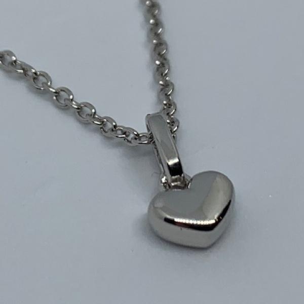 You & Me heart pendant