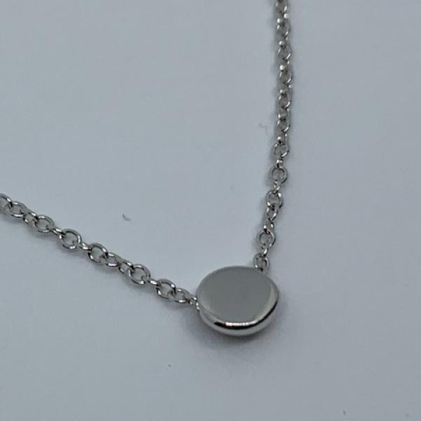 You & Me Circle Mini pendant