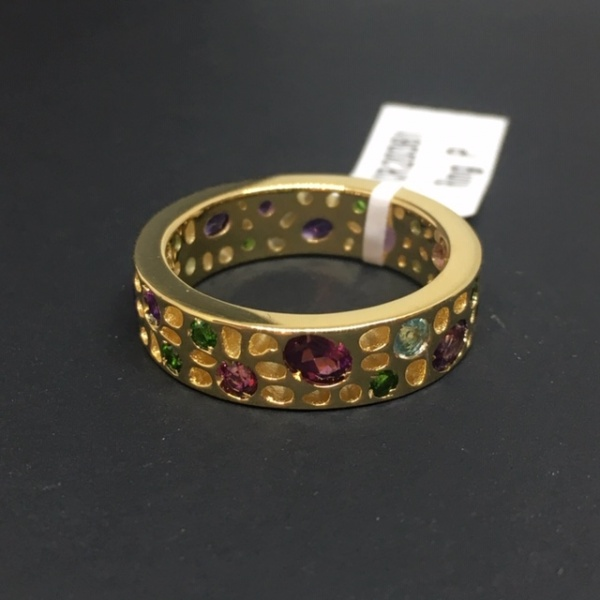 LIMITED EDITION - Gemstone Ring Size N