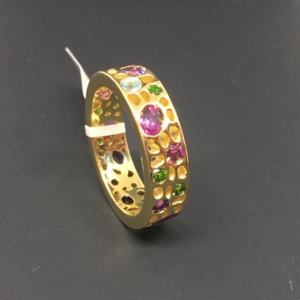 LIMITED EDTION - Gemstone Ring Size P