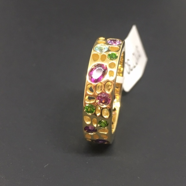 LAST ONE -LIMITED EDITION - Gemstone Ring Size L
