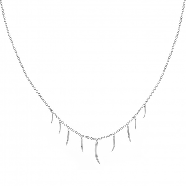Molto Multi Strand Necklace Plain