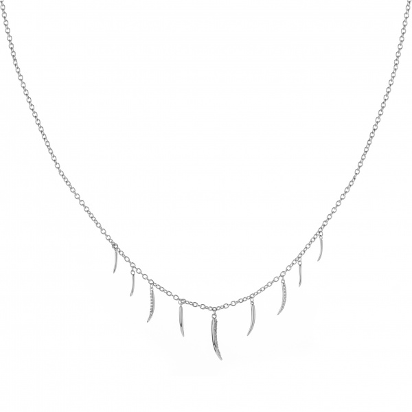 Molto Multi Strand Necklace Diamond