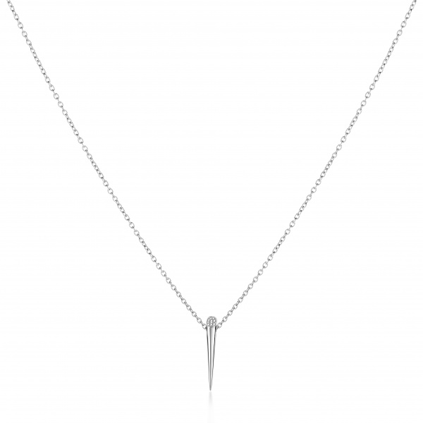 Molto Straight Diamond Pendant