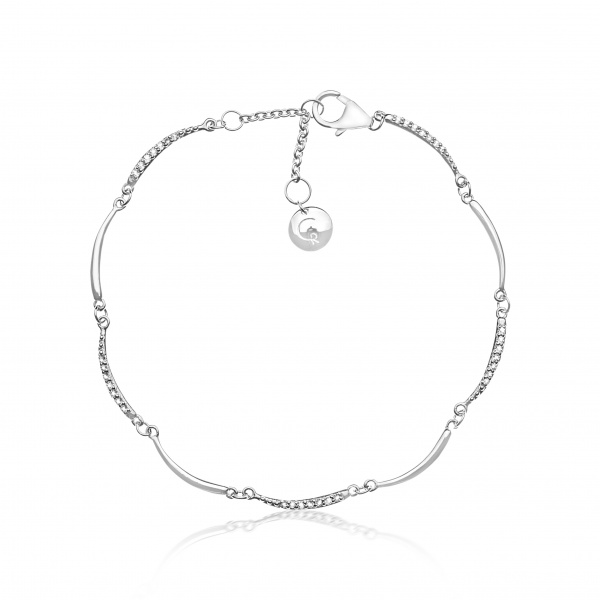 Molto Mini Bar Bracelet Diamond