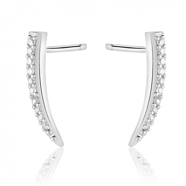 Molto Mini Stud Earring Diamond