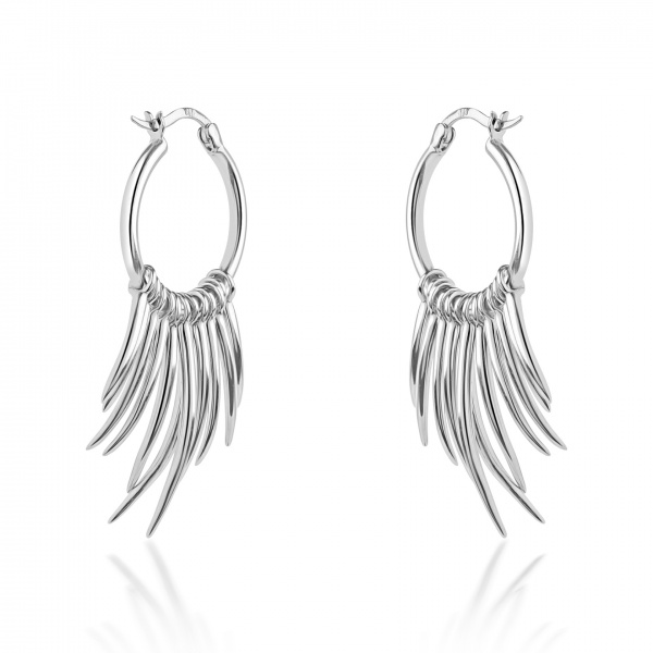 Molto Spike Hoop Earrings