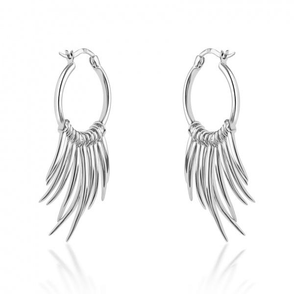 Molto Spike Hoop Earrings