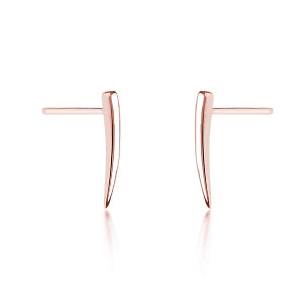 Molto Micro Stud Rose Gold Overlay