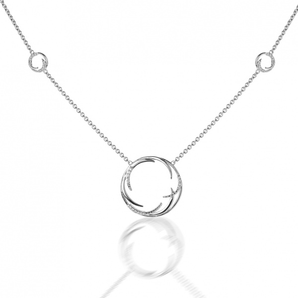 Molto Ice Necklace CZ
