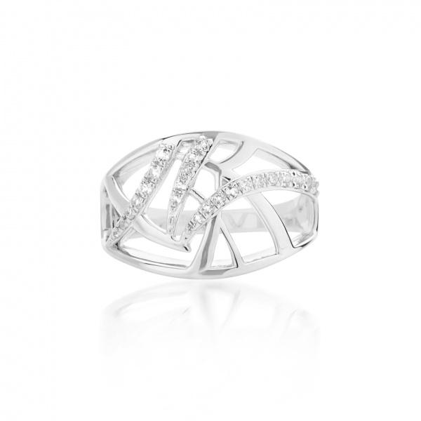 Molto Ice Band Ring Diamonds Size L