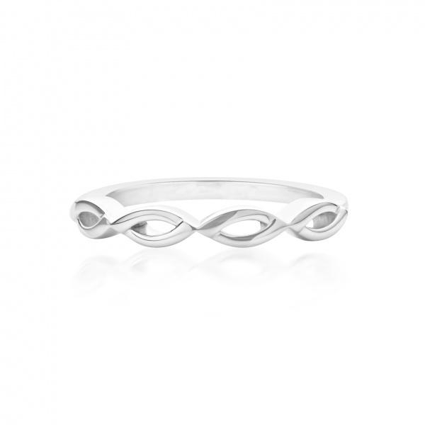 Molto Link Plain Ring Size L