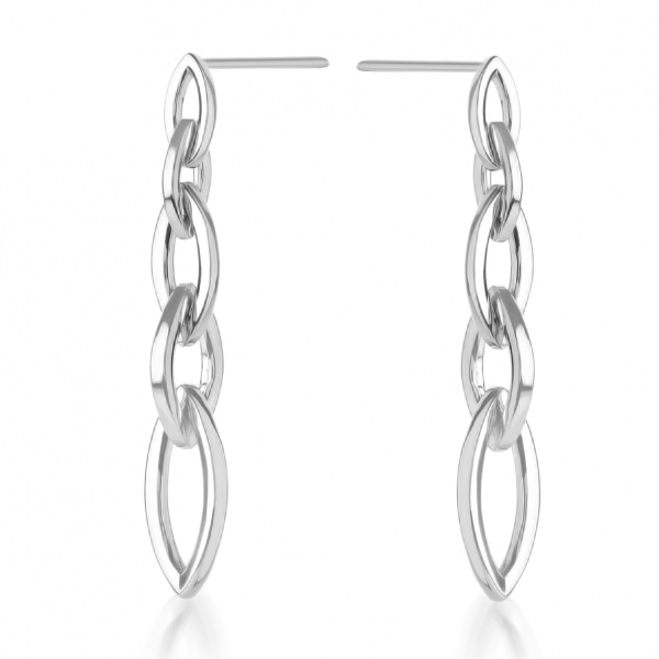 Molto Link Chainlink Earrings